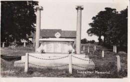 AS05 Snape War Memorial - RPPC - Inghilterra