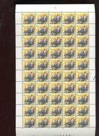 Belgie 2294 H3 PREO PRE826 Buzin Volledig Vel FULL SHEET Vogels Birds Oiseaux MNH Plaatnummer 2 19/7/1989 RR - 1985-.. Oiseaux (Buzin)