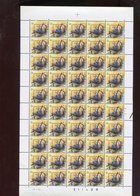 Belgie 2294 Novarode PREO PRE826 Buzin Volledig Vel FULL SHEET Vogels Birds Oiseaux MNH Plaatnummer 2 30/1/1992 - 1985-.. Oiseaux (Buzin)