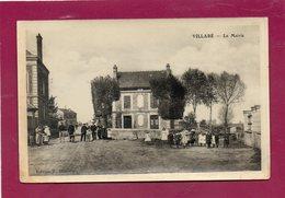 CPA - VILLABé (91) - Aspect Du Quartier De La Mairie Au Début Du Siècle - Other Municipalities