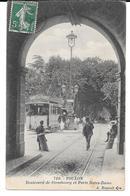 Cpa Toulon / Boulevard De Strasbourg Et Porte Notre-Dame . (Tramway Gros Plan). - Toulon