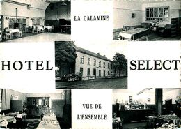 Cpsm Multivues LA CALAMINE - Hôtel Restaurant SELECT - La Calamine - Kelmis
