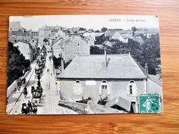 Beau Plan Animé A GUERET - La Rue Des Chers -  Voyagé En 1908 - Guéret