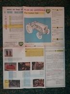 Plan De Graissage BP Pour Tracteur - Années 1960 / 1970 - - Tracteurs
