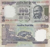 INDIA      100 Rupees      P-105      2018       UNC  [ Diagonal Bars - New Serial Number - Sign. Patel - Letter L ] - India