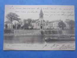 93-SAINT-DENIS Ile St-Denis , Circulée En 1904 , Dos Non Divisé , 2 Scans - Saint Denis