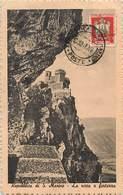 Pays Div -ref N261- Saint Marin - St Marin - Republica Di S Marino - La Rocca A Forterra   - Carte Bon Etat  - - Saint-Marin