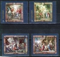 Malta Complete Set Of Stamps To Celebrate Flemish Tappestries. - Malta