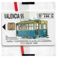 Spain - Valencia '95 - P-135 - 06.1995, 100PTA, 6.100ex, NSB - Spain