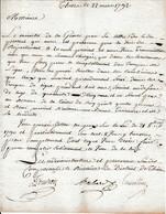 Rév. 22 Mars 1792 - Enrôler Dans LES CARABINIERS Ceux Ayant Servi Dans LES TROUPES DE LIGNE Pendant 8 Ans - Historische Documenten