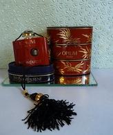 """Ancien Flacon   """"OPIUM  """" De YVES ST LAURENT  Parfum 7,5 Ml Dans Sa Boite VIDE - Miniatures Modernes (à Partir De 1961)"""
