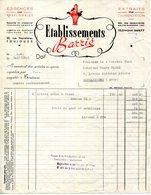 31.TOULOUSE.ESSENCES POUR PARFUMERIES.EXTRAITS POUR L'ALIMENTATION.Ets.BARRIE 50 RUE PEYROLIERES. - Chemist's (drugstore) & Perfumery