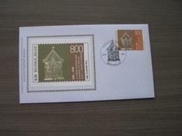 """BELG.2005 3425 FDC Silk-soie-zijde  """" 850 Jaar Schrijn Van O.L.V. Te Tournai""""   (album 111) - 2001-10"""