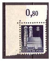 All.Besetzg., Bizone, Nr. 79WB, Postfrisch - American/British Zone