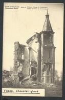 +++ CPA - Forêt D' HOUTHULST - Guerre 1914-18 - Château Cotteau De SIMENCOUX - Pub Publicité Chocolat Fosco   // - Houthulst