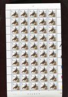 Belgie 2459 CPL  PREO PRE829 Buzin Volledig Vel FULL SHEET Vogels Birds Oiseaux MNH Plaatnummer 2 19/5/1992 - 1985-.. Oiseaux (Buzin)