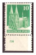 All.Besetzg., Bizone, Nr. 80 WVA, Postfrisch - Bizone