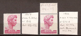 """(Fb).Repubblica.100 Lire Rosa Carminio """"S. Giorgio"""" Nelle 2 Emissioni (241-18) - 6. 1946-.. Republic"""