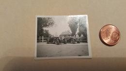 Petite Photo 4x2.5 Deux Voitures Mercedes - Automobiles