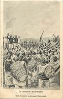 Pays Div -ref N240- Illustrateurs -dessin Illustrateur - Mission Marchand -chefs Somalis Acclamant Marchand - - Somalie