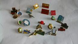 Lot De Plus De 20 Pin's - Badges