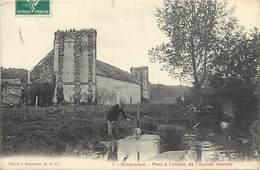 - Yvelines - Ref-B670- Grousrouvre - Pont A L Entree De L Ancien Manoir - Manoirs - Chateaux - Carte Bon Etat - - Frankreich