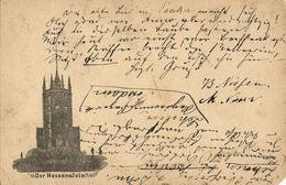 PILSDORF, Der Hessenstein Aussichtsturm (1892) AK - Allemagne