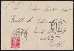 GUERRA CIVIL. FRANQUICIAS MILITARES. CEUTA A CÓRDOBA. - 1931-Hoy: 2ª República - ... Juan Carlos I