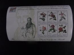 Belgica 90, Centenaire De La Fédération Royale Des Cercles Philatéliques De Belgique - Roses