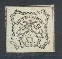Etats Pontificaux 1852 Yvert 9 (*) TB Neuf Sans Gomme - Etats Pontificaux