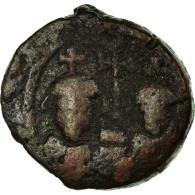 Monnaie, Héraclius, 12 Nummi, Alexandrie, TB, Cuivre, Sear:857 - Byzantines