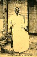Cpa Un Vieux Prêtre Chinois, Le Père Paul SIU - China