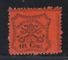 Etats Pontificaux 1868 Yvert 22 ** TB - Etats Pontificaux