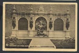 +++ CPA - YPRES - IEPER - Monument Aux Yprois Morts Pour La Patrie // - Ieper