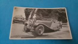Photo 11x7 Voiture Mercedes Benz Ancienne - Automobiles