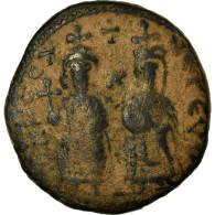 Monnaie, Phocas, Follis, 602-610, Antioche, TB, Cuivre, Sear:671 - Byzantines