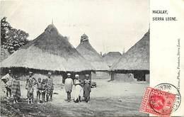 Pays Div -ref N229- Sierra Leone - Macalay  - Carte Bon Etat   - - Sierra Leone