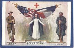 CPA Croix Rouge Patriotique Non Circulé - Red Cross
