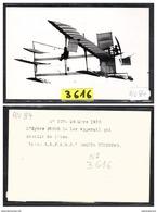 1529 AV84 AK PC CARTE PHOTO L HYDRO FABRE LE 1° APPAREIL QUI DECOLLA DE L EAU 29 MARS 1910 NC TTB ( - ....-1914: Precursori