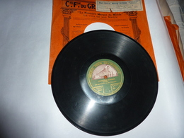Disque Cie Fse Du GRAMOPHONE La Voix De Son Maître-  Irène (Viard) - 78 Rpm - Schellackplatten