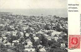 Pays Div -ref N227- Sierra Leone - Freetown  - Carte Bon Etat   - - Sierra Leone