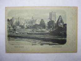 CHRISTCHURCH      -  PRECURSEUR DE 1900  -    PRIORY CHURCH      TTB - New Zealand