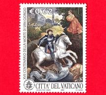 Nuovo - MNH - VATICANO - 2003 - 17º Centenario Della Morte Di San Giorgio - San Giorgio Uccide Il Drago  - 0.62 - Vaticano