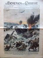 La Domenica Del Corriere 7 Gennaio 1940 WW2 Terremoto Turchia Steinmaurer Napoli - War 1939-45