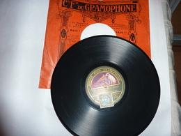 Disque Cie Fse Du GRAMOPHONE La Voix De Son Maître Scotto Par Suzanne Chevalier - 78 Rpm - Schellackplatten
