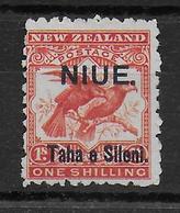 NIUE - YVERT N° 6 (*) SANS GOMME - COTE = 45 EUR. - Niue