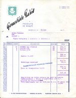 13.MARSEILLE.PRODUITS DE BEAUTE GENEVIEVE PARIS 44 RUE EDMOND ROSTAND. - Chemist's (drugstore) & Perfumery