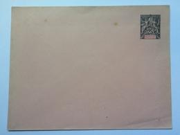 FRANCE - Nossi-Be - Postal Stationary Envelope 25 Centimes Unused - Nossi-Bé (1889-1901)