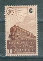 FRANCE ; Colis Postaux ; 1945 ; Maury N° 211af ; Neuf - Colis Postaux
