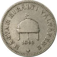 Monnaie, Hongrie, Franz Joseph I, 20 Fillér, 1893, Kormoczbanya, TB+, Nickel - Hungary